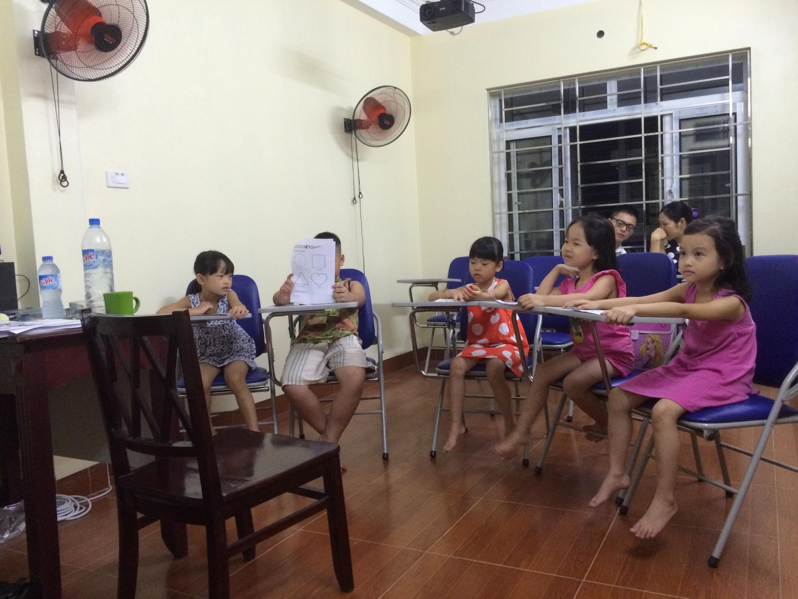 Học viên Trung Tâm Tiếng Anh Cho Trẻ